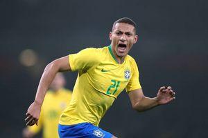 Đội hình siêu tấn công sơ đồ 4-3-3 của Brazil trận gặp Cameroon