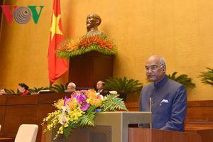 Tổng thống Ấn Độ: 'Việt Nam luôn nằm trong tâm trí tôi'