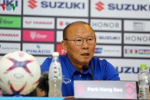 HLV Park Hang Seo tiếc vì ĐT Việt Nam không thắng được ĐT Myanmar