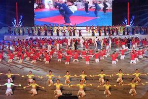 Truyền hình trực tiếp lễ khai mạc Đại hội Thể thao toàn quốc lần thứ VIII - 2018