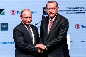 Nga, Thổ Nhĩ Kỳ khánh thành tuyến đường ống khí đốt dưới biển