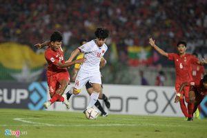 Thầy trò Park Hang-seo giành 1 điểm trên sân khách