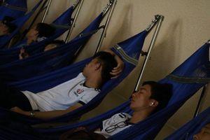 Đại học đầu tiên có khu nghỉ trưa tiện nghi cho sinh viên