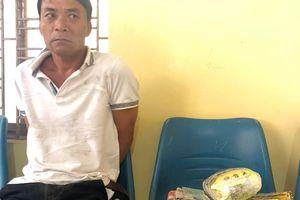 Vừa xuống xe, nghi can mang 6 kg ma túy đá bị bắt giữ