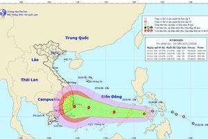 Nam Trung Bộ đón cơn bão thứ 2 trong vòng 1 tuần