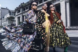 Siêu mẫu Lê Thúy, Lâm Thu Hằng, Thùy Trang 'nổi loạn' giữa đường phố Sài Gòn