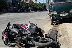Xe tải gây tai nạn liên hoàn, 3 người thương vong