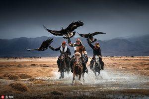 Mối liên kết 'độc' giữa người và đại bàng khổng lồ Mông Cổ