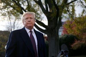 Tổng thống Trump tự tin sẽ trở thành 'Nhân vật của năm' 2018