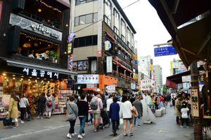 Mọi 'ham muốn' đều được thỏa mãn ở Insadong của xứ Hàn