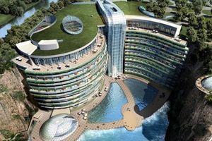 Có gì bên trong khách sạn 5 sao dưới lòng đất đầu tiên của Trung Quốc?