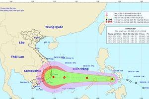 TP Nha Trang có thể phải đối mặt bão số 9 cuối tuần
