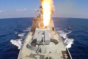 Hải quân Nga 'động thủ' gần bờ biển Syria