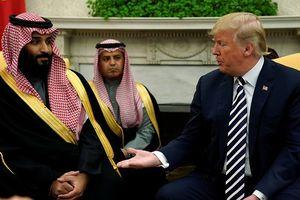 TT Trump bao che Thái tử Ả Rập Xê út, coi nước này là 'đồng minh tuyệt vời'