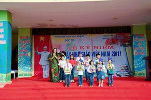 Trung tâm KHGD&ĐT Đức Trí tổ chức các hoạt động ý nghĩa kỷ niệm Ngày Nhà giáo Việt Nam