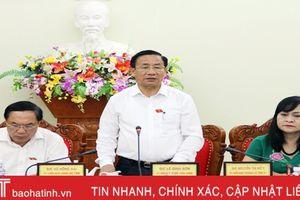 Tập trung xử lý kiến nghị của cử tri và chất vấn từ đại biểu HĐND tỉnh