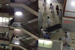 Thanh niên nhảy lầu tự tử ở Bệnh viện Bạch Mai vì đâu?