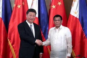 Ông Tập Cận Bình: Trung Quốc-Philippines thúc đẩy hợp tác trên biển