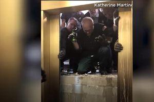 Thang máy rơi tự do 84 tầng, toàn bộ 6 người may mắn thoát chết