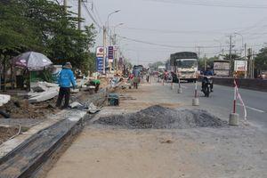 60 tỷ đồng sửa chữa mặt đường QL1 qua Long An, Tiền Giang