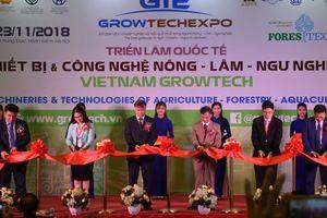 Lần đầu tiên Hà Nội tham dự triển lãm VietNam Growtech 2018