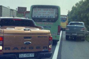 Nhức nhối tình trạng phóng bạt mạng trong làn khẩn cấp đường cao tốc