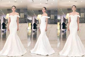 Dù được đánh giá là tuyệt tác nhưng váy đuôi cá của Tiểu Vy vẫn trắng tay ở Designer Awards