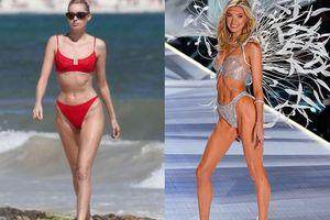 Thiên thần Victoria's Secret mặc bra triệu đô bị chê thân hình gầy trơ xương kém sức sống