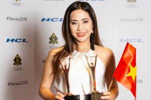 Nữ đạo diễn 8X của Việt Nam giành cúp Vàng giải 'Stevie Award' tại Mỹ