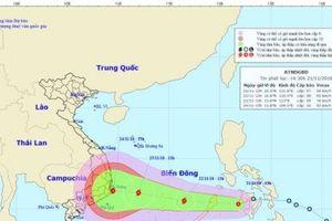 Áp thấp nhiệt đới sẽ mạnh lên thành bão và tiến vào Biển Đông