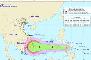 Tiền thân bão số 9 đi qua Phi-líp-pin