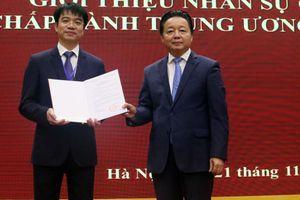 Công bố Quyết định chỉ định ông Phạm Tân Tuyến tham gia Ban cán sự đảng Bộ Tài nguyên và Môi trường