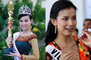 Hoa hậu Hoàn vũ đầu tiên của Việt Nam Thùy Lâm bây giờ ra sao?