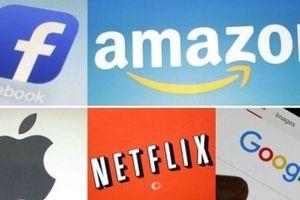 Giá trị vốn hóa của 5 'gã khổng lồ' công nghệ hàng đầu mất hơn 1.000 tỷ USD