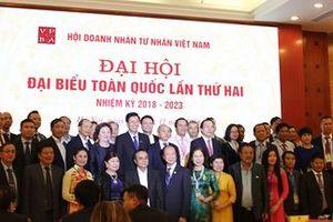 Danh sách Ban Chấp hành Trung ương Hội Doanh nhân Tư nhân Việt Nam khóa II nhiệm kỳ 2018-2023
