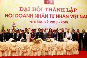 BCH Hội Doanh nhân Tư nhân Việt Nam nhiệm kỳ 2013-2018: Nhiều kết quả nổi bật