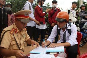 Đắk Nông: Phạt nghiêm vi phạm học sinh đi xe máy đến trường