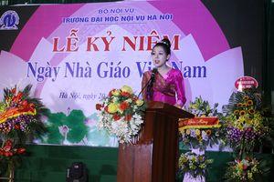 Trường Đại học Nội vụ Hà Nội tổ chức Lễ kỷ niệm ngày nhà giáo Việt Nam 20/11