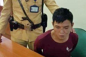 CSGT Hà Nội bắt tên cướp nhiễm HIV