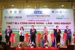15 nước tham dự triển lãm quốc tế thiết bị công nghệ ngành nông nghiệp lớn nhất Việt Nam