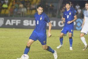 Thái Lan để 'tuột' chiến thắng trước Philippines