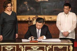 Philippines 'mặn nồng' hơn với Trung Quốc sau khi ông Tập tới thăm
