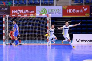 Futsal HDBank 2018: Trải nghiệm mới về không gian thi đấu của các cầu thủ
