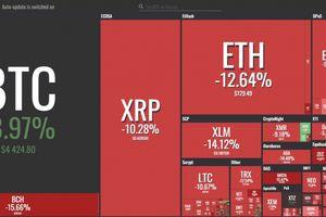 Giá Bitcoin hôm nay 21/11: Giá Bitcoin rớt thảm