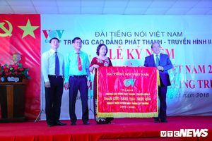VOV College tổ chức 40 năm ngày truyền thống của trường