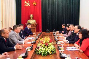 Hà Nội mong muốn tăng cường hợp tác với các địa phương của Kazakhstan