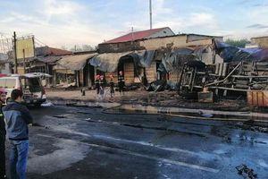Xe bồn chạy gần 100km/h trước vụ cháy làm 6 người chết ở Bình Phước