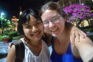 Cô gái Canada yêu Việt Nam sau 150 ngày vòng quanh thế giới