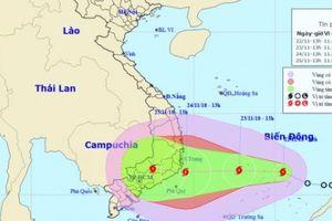 Giám đốc Trung tâm dự báo chỉ ra điểm nguy hiểm của bão số 9