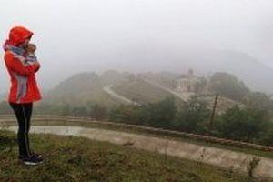 Khu du lịch Mẫu Sơn nhiệt độ giảm 7,4 độ C